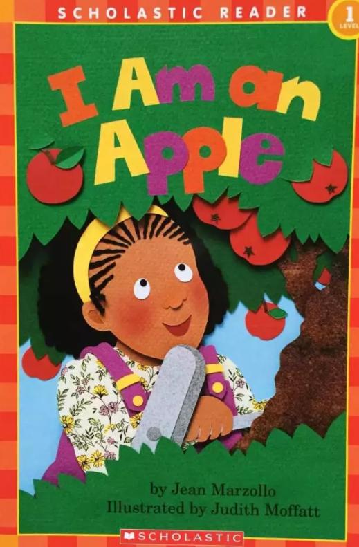 科普类英语绘本小故事,我是一个苹果 I Am an Apple电子课件