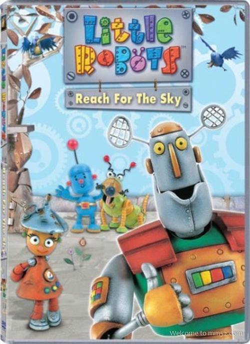 BBC动画【Little Robots 小小机械人王国】全集,适于3-7岁的小孩