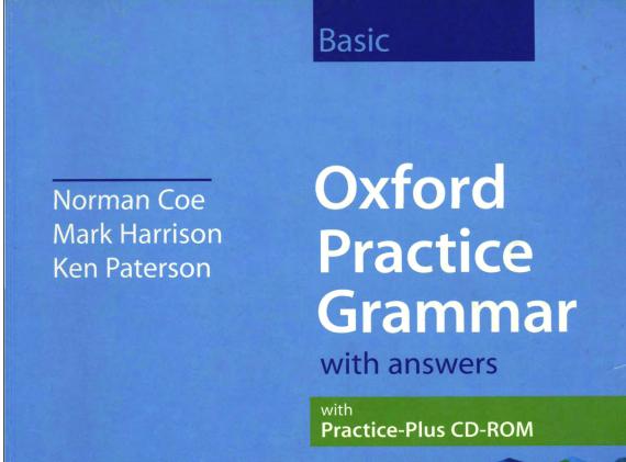 《牛津练习语法》电子PDF版——学霸们都在用的好书