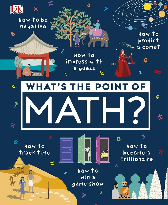 2020年DK高清原版新书《Whats the Point of Maths  儿童数学启蒙》