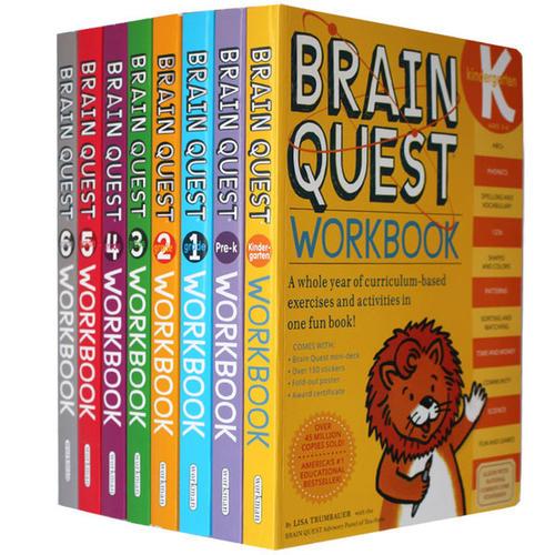 Brain Quest 大脑任务全四册,含外教视频,mp3音频,点读包等