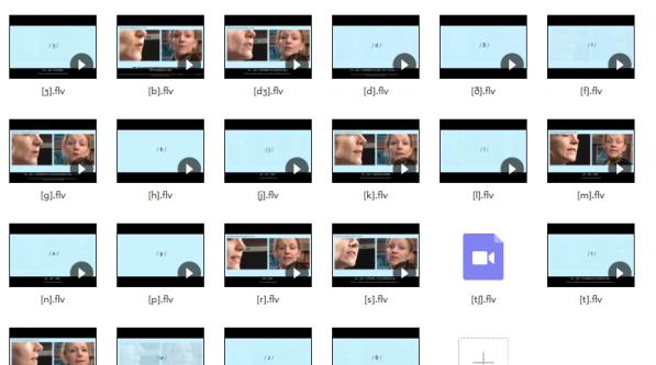 BBC国际标准音标视频教学, 完整版和分割版