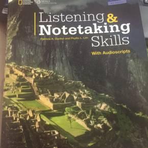 全网首发,Listening and Notetaking Skills1-3版 PDF+音频