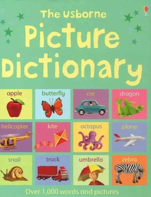 Usborne Picture Dictionary 儿童图解英语词典