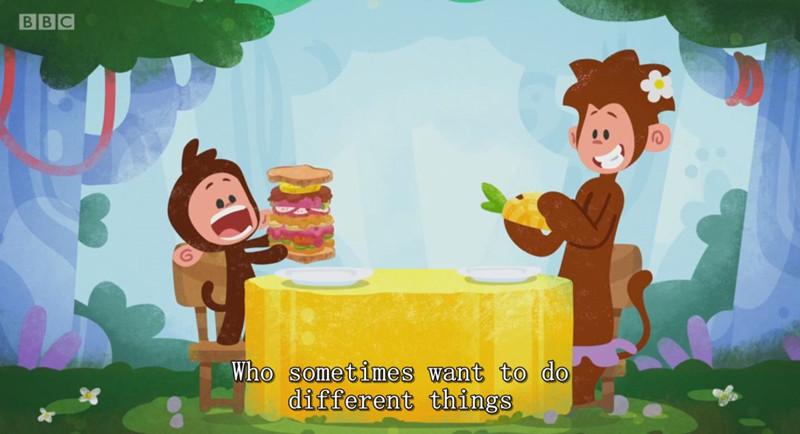 动画片英语动画片